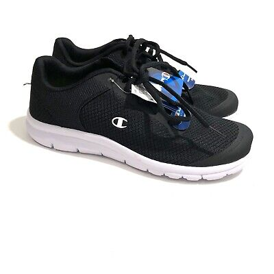 Champion Athletic Sneakers (CHAMPION Men's 7.5 Black White Memory Foam Lace Up Sneakers NWT Athletic Shoes)