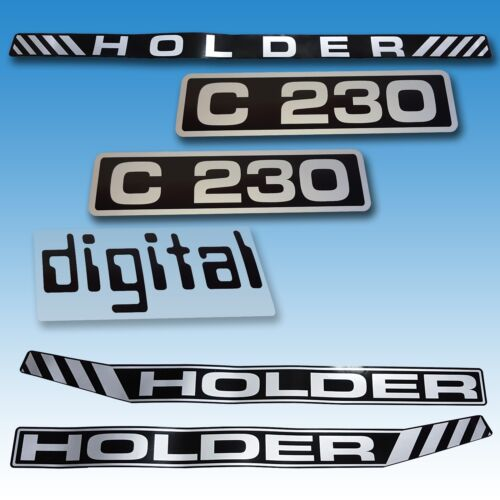 Aufkleber-Satz Aufklebersatz Aufkleber Holder C 230 Digital Traktor Schlepper  Foto 1