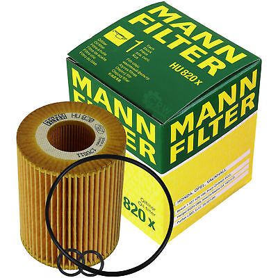 Original MANN-FILTER Ölfilter Oelfilter HU 820 x Oil Filter - Filter Combo Pack
