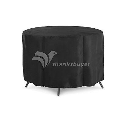 128x71cm Veranda Patio Set Cover Table Chair Outdoor Garden Furniture Round HQ  (Veranda, Patio Set)