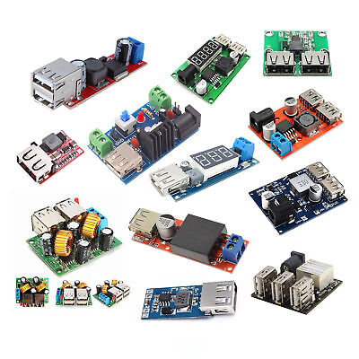 Dc-dc Usb Converter Boost Step Down Power Module Adjustable Charger Ass