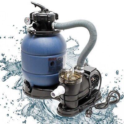 Sandfilter Filteranlage Sandfilteranlage Poolfilter Pumpe Schwimmbadpupe