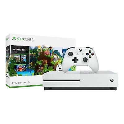 Xbox One S 1TB Minecraft Bundle