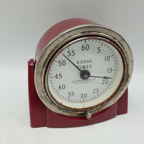 Vintage Kodak Darkroom Timer - Red - Works