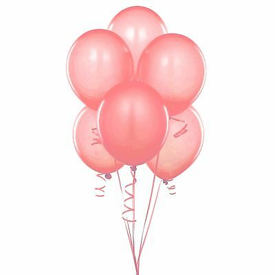 Orange And Pink Balloons (72 Latex Balloons 12