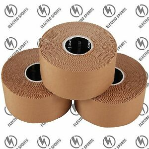 Premium Rigid Sports Strapping Tape - 4 Rolls x 38mm x 13.7m