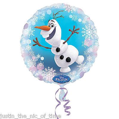 ay Party Helium FOIL BALLOONS Decoration OLAF BALLOON (Disney Frozen Birthday Ballons)