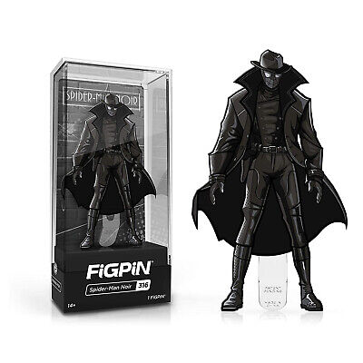 Figpin Into The Spider-Verse Spider-Man Noir Collectible Pin #316 NEW