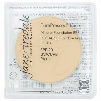 Jane Iredale PurePressed Base Mineral Foundation-WARM SIENNA REFILL