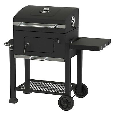Heavy Duty 24-Inch Charcoal Grill BBQ Barbecue Smoker Outdoor Pit Patio Cooker