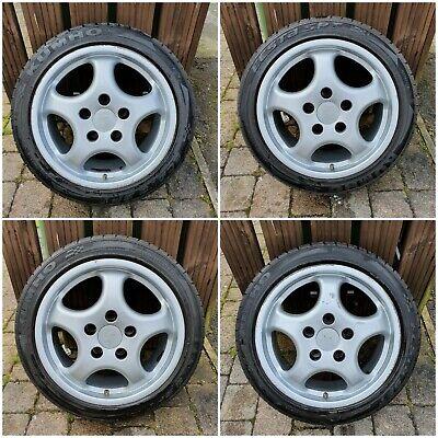 "Staggered Borbet Porsche Cup 1 Alloy Wheels 17"" 7.5J, 9J"