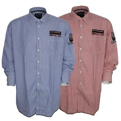 Kitaro Hemd Shirt Herren Langarm Plusgröße Übergröße Maritime Classics