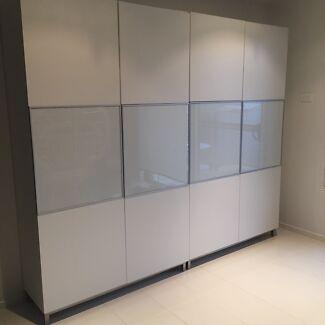 IKEA besta storage cabinet white  Middleton Grange Liverpool Area Preview