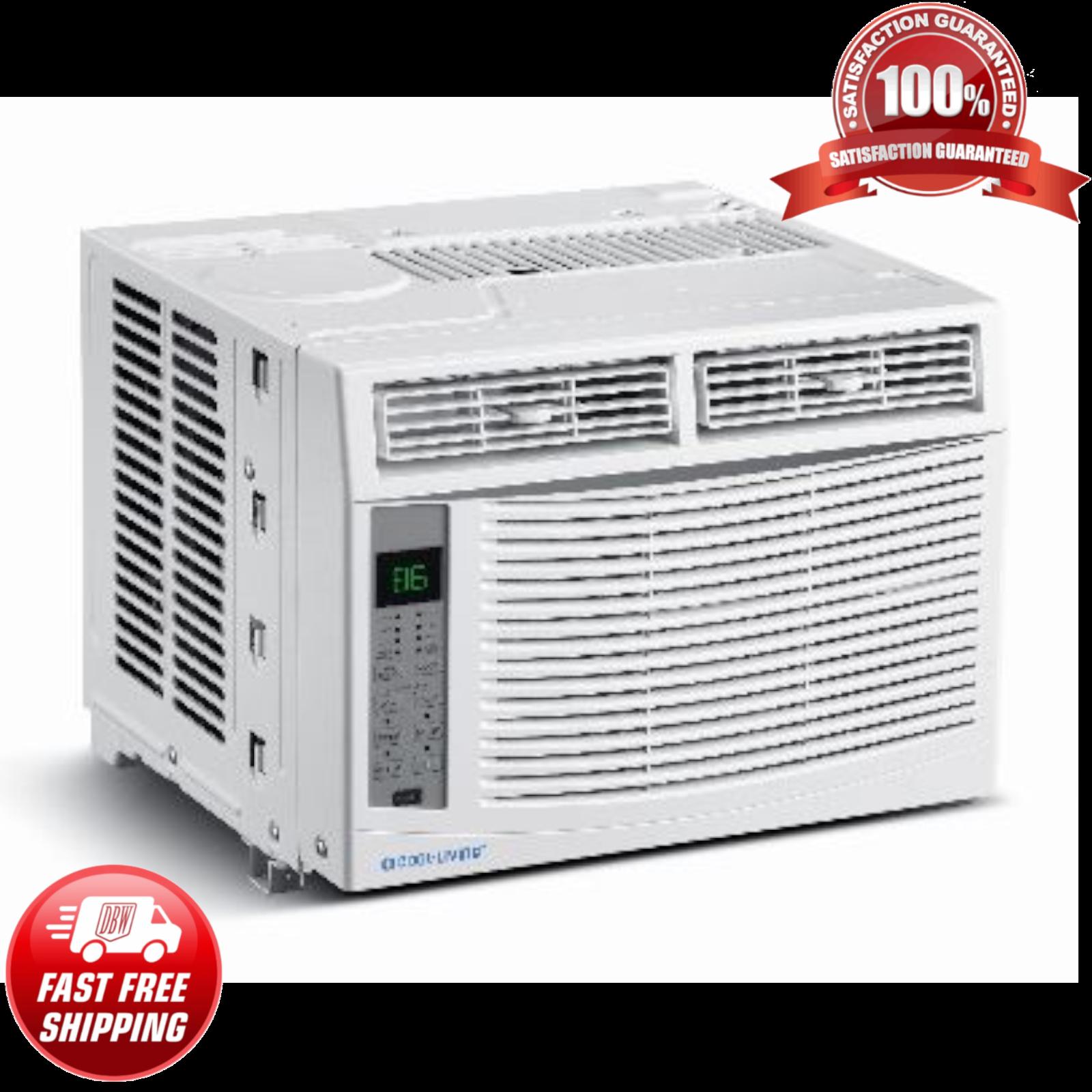 6000 BTU Compact Window Air Conditioner 350 Sq Ft Home AC Un