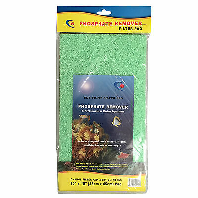 Diy Phosphate Remover Filter Foam Sponge Media For Aquarium Fish Tank Marine