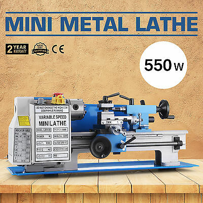 0618-3B Metalldrehmaschine Mini-Drehmaschine Drehbank Futter Metal Lathe