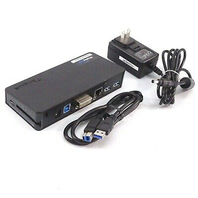 Targus Universal DVI Docking Station USB 3.0 w/ Accessories (Used) (ACP076US)