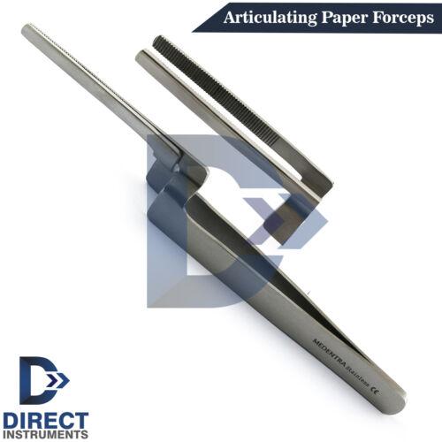 Miller Articulating Paper Forceps Holder Straight Dental Restoration Serrated CE