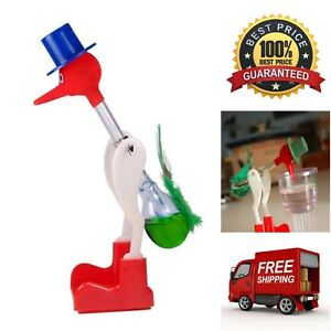 The Original Dipping Bobbing Drinking Bird Retro Vintage Toy Perpetual Motion
