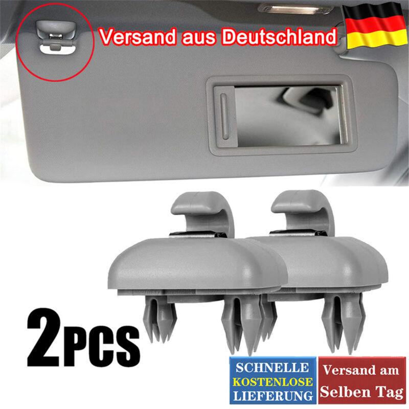 2 Stück Sonnenblendenclip Hakenhalter Für Audi A1 A3 A4 A5 Q3 Q5 B6 B7 B8