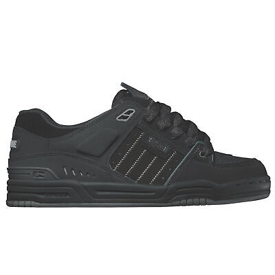 - Globe Fusion Skate Shoes Trainers Black Night Action Nubuck