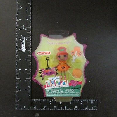 Pumpkin Candle Light Mini Lalaloopsy Doll Target Exclusive 2013 Halloween NEW  - Lalaloopsy Halloween Doll
