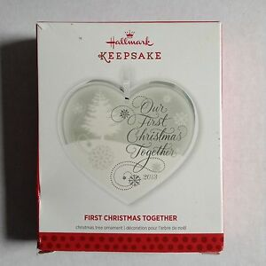 Hallmark Keepsake 2013 Annual Our First Christmas Together ...