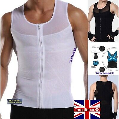Men Best Slimming Body Shaper Trimmer Tummy Control Tank Male Corset Girdle