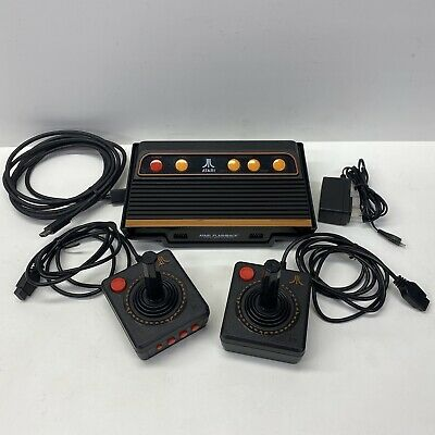 Atari Flashback 9 HDMI Video Game Console Wired Controllers, ATGames AR3050
