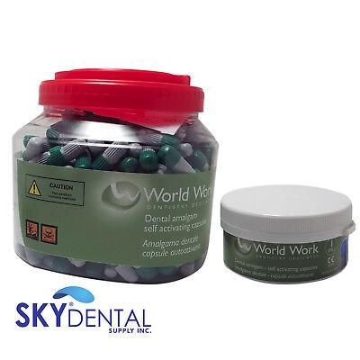 Amalgam Dental Alloy 1 2 3 Spill Regular Set 500 Or 50 Capsules