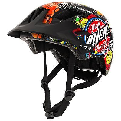 O'Neal Rooky Crank Multi Kinder MTB Helm Mountain Bike Fahrrad Fidlock XXS...