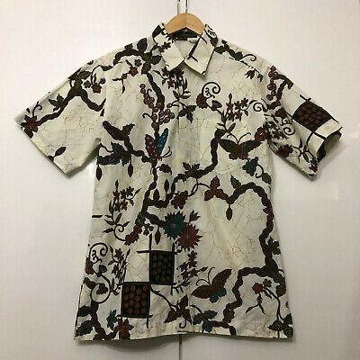 Vintage Hawaiian Style Shirt Classic Retro Multicolour Medium