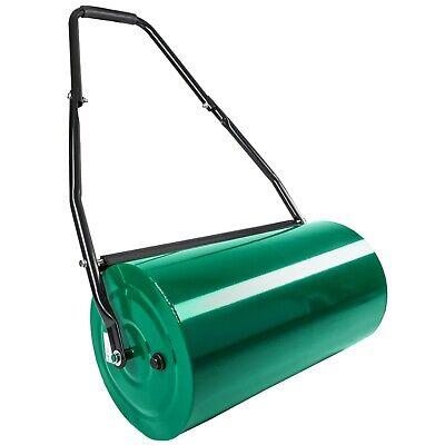 Heavy Duty 60cm Metal Steel Garden Grass Lawn Roller Sand Water Filled 50L New