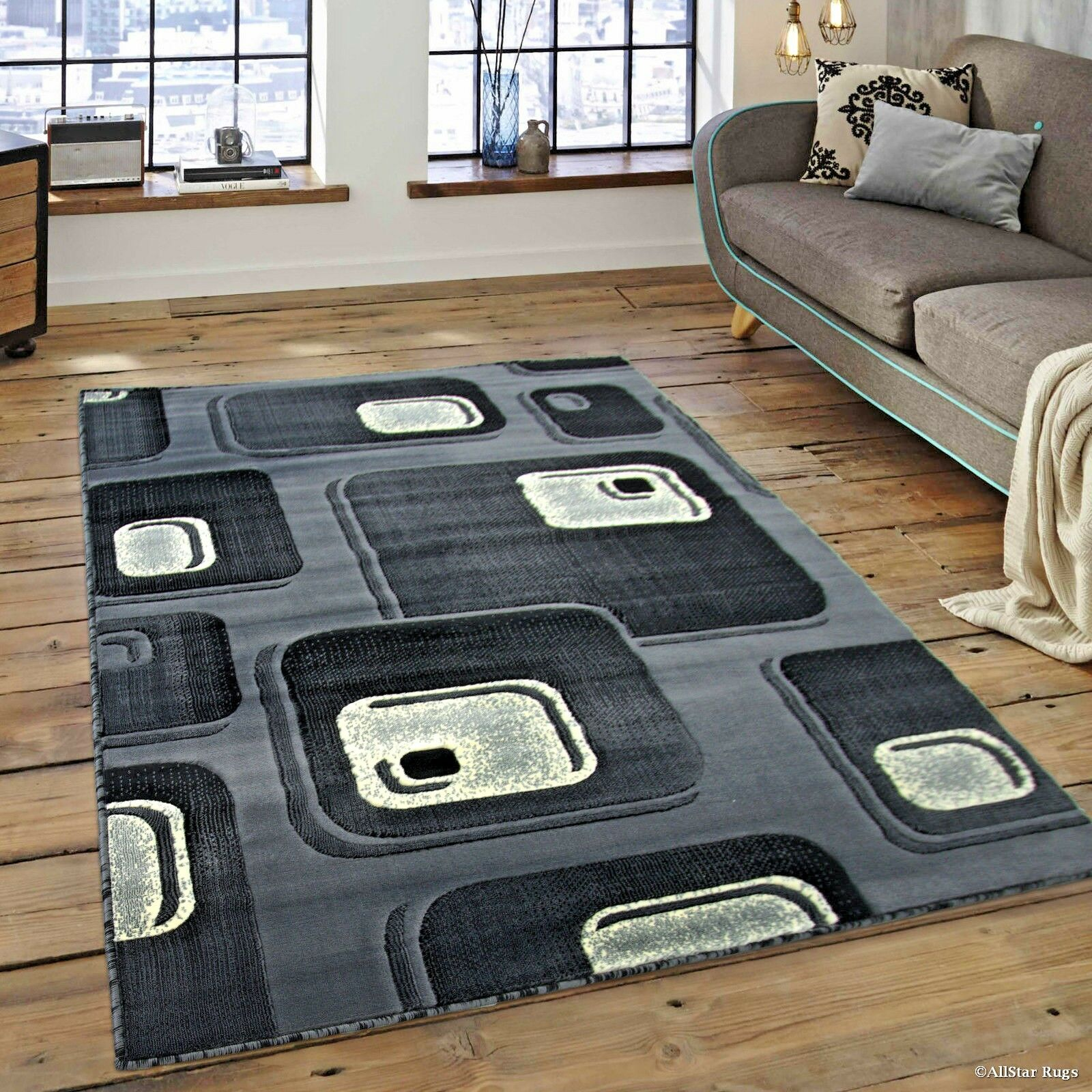 Details About Rugs Area Rugs Carpets 8x10 Area Rug Modern Big Grey Large Room Floor Gray Rugs