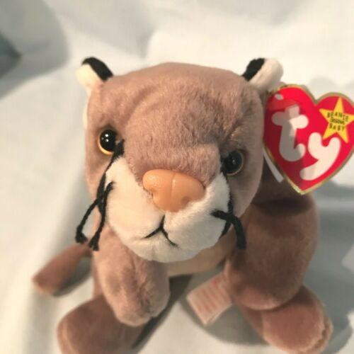 Canyon the cougar #4212 Ty Beanie Baby 1998 PE Retired Wildlife  $5.99