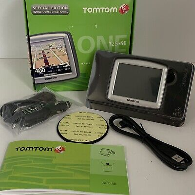 Tom Tom One N14644 Navigation GPS Navigator Unit Motorcycle Travel Never Used