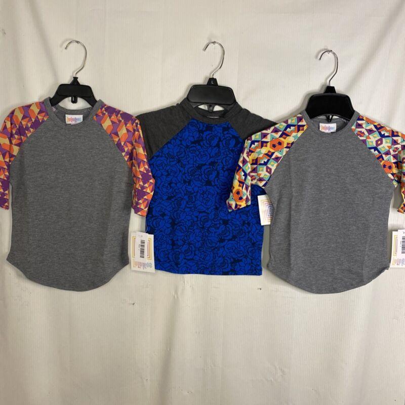 Lularoe Sloan Size 2 NWT Lot Of Three Shirts