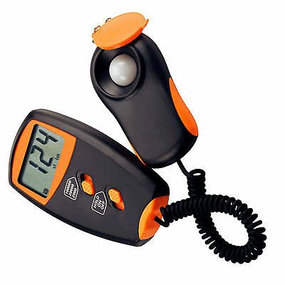 Hqrp Digital Handheld Illuminance High Accuracy Light Lux Meter With Lcd Display