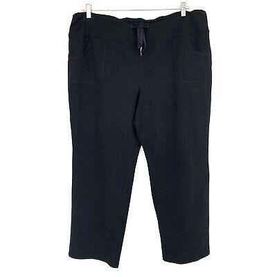 Zella Activewear Pants 18W Black Drawstring