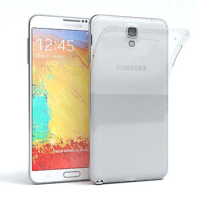 Für Samsung Galaxy Note 3 Neo Hülle Case Silikon Cover Handy Schutz...