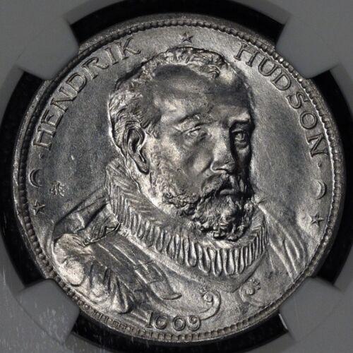 So Called Dollar, HK 370, Hudson Fulton Celebration, 1909, R-5, NGC MS 64