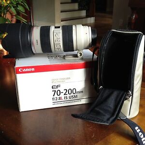 Canon EF 70-200 F/2.8 IS