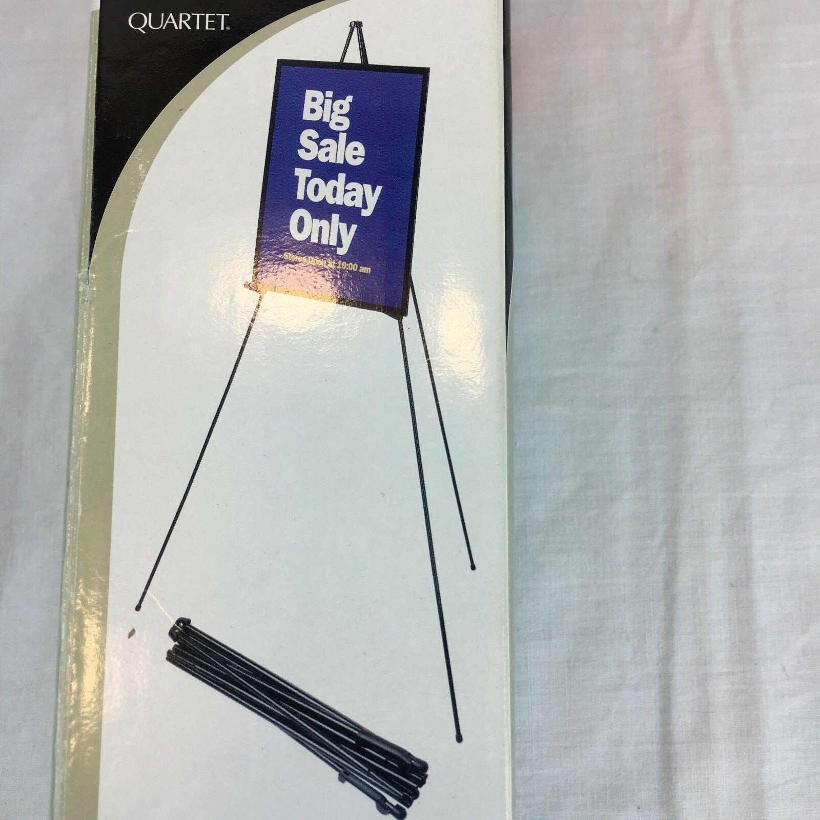 portable easel instant display holds 10 lbs