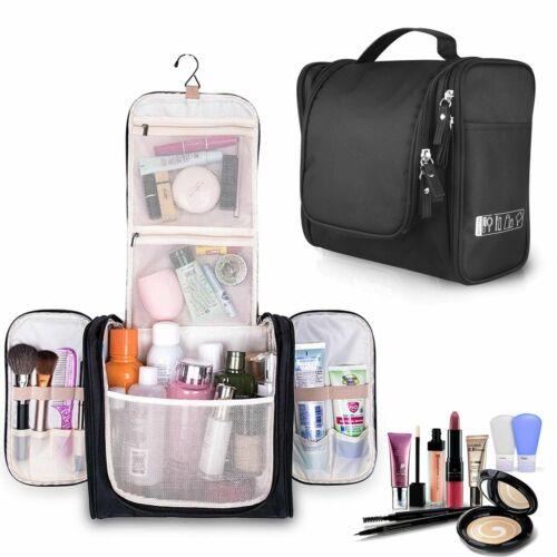Waterproof Travel Toiletry Bag Bathroom Shower Bags with Hanging Hook Health & Beauty
