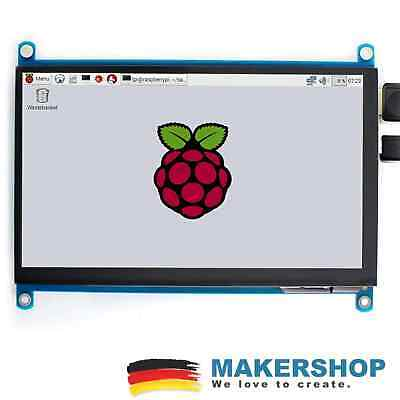 Waveshare 7inch HDM 1024x600 Capacitive Touchscreen Touch Display LCD(H)IPS - Capacitive Touch Screen