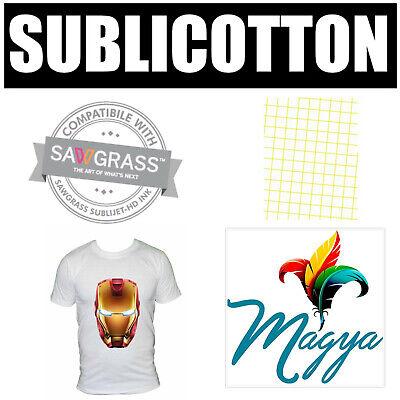 """SUBLICOTTON TRANSFER PAPER 20 Sh PK 8.5""""X11"""" Sublimation paper for Cotton #1"""