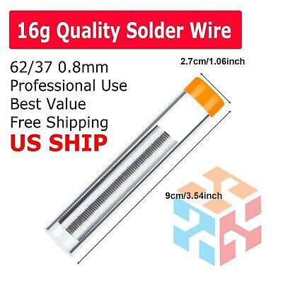 16g 6337 Tin Lead Line Soldering 0.8mm Rosin Core Solder Flux Welding Wire Reel