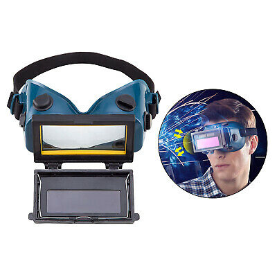 Auto Darkening Welder Welding Goggles Protective Eyes Glasses Mask