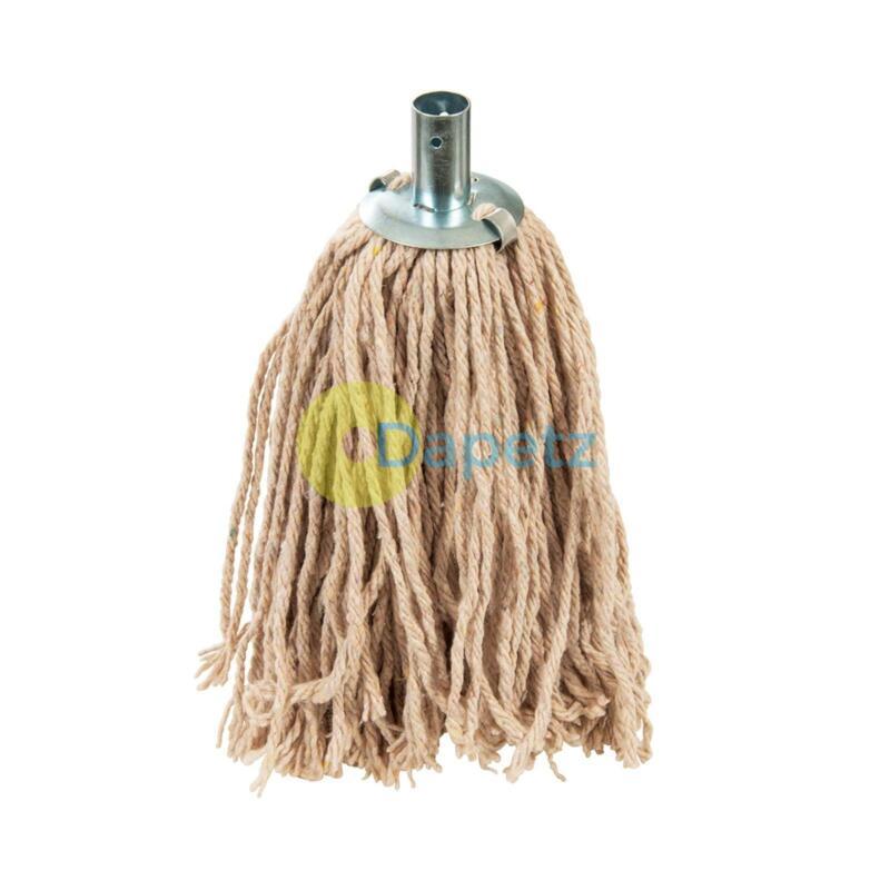 Mop Head Socket Heavy Duty 100% Cotton Replacement head 4Ply No 12 Metal