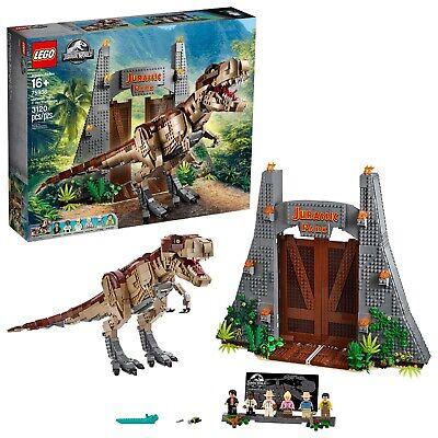 LEGO Jurassic World Jurassic Park: T. rex Rampage 75936 Building Kit